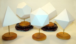 Platonic Solids - Set of 5