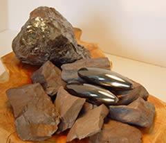 Hematite is iron ore