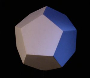 The dodecahedron transmits the element of ether or spiritual energy.