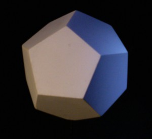 Dodecahedron transmits the element of ether.