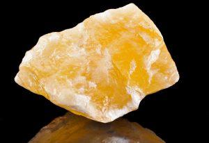 Gold calcite awakens spiritual insight.