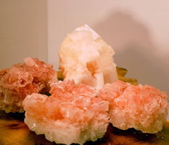 Pink Halite infuses you with joy in living.