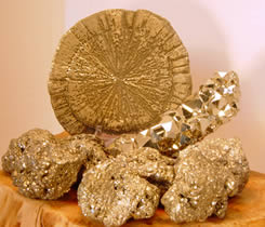 Pyrites fill your body and your environment with spiritual energy.