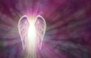 The Angels of the Violet Flame are supporting you.
