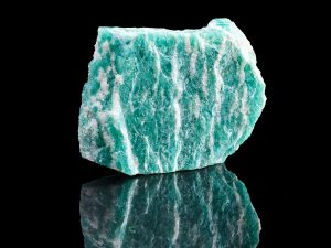 Amazonite encourages loving communication.