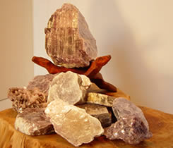 Lepidolite supports graceful change.